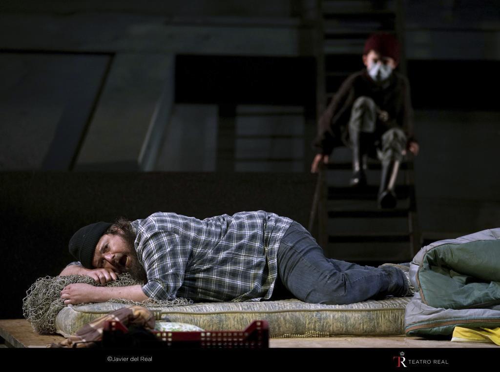 Un momento del 'Peter Grimes' de Deborah Warner.