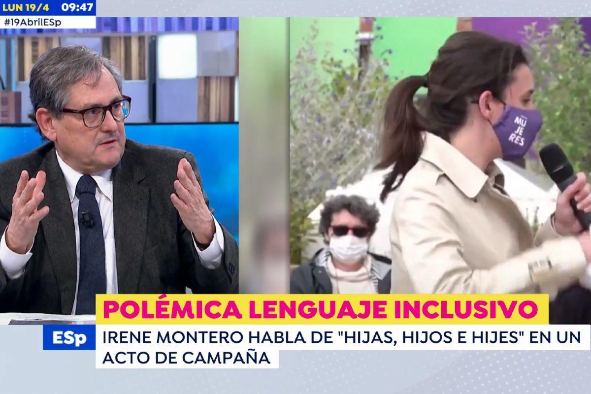Paco Marhuenda habla de su hija lesbiana tras el discurso inclusivo de Irene Montero