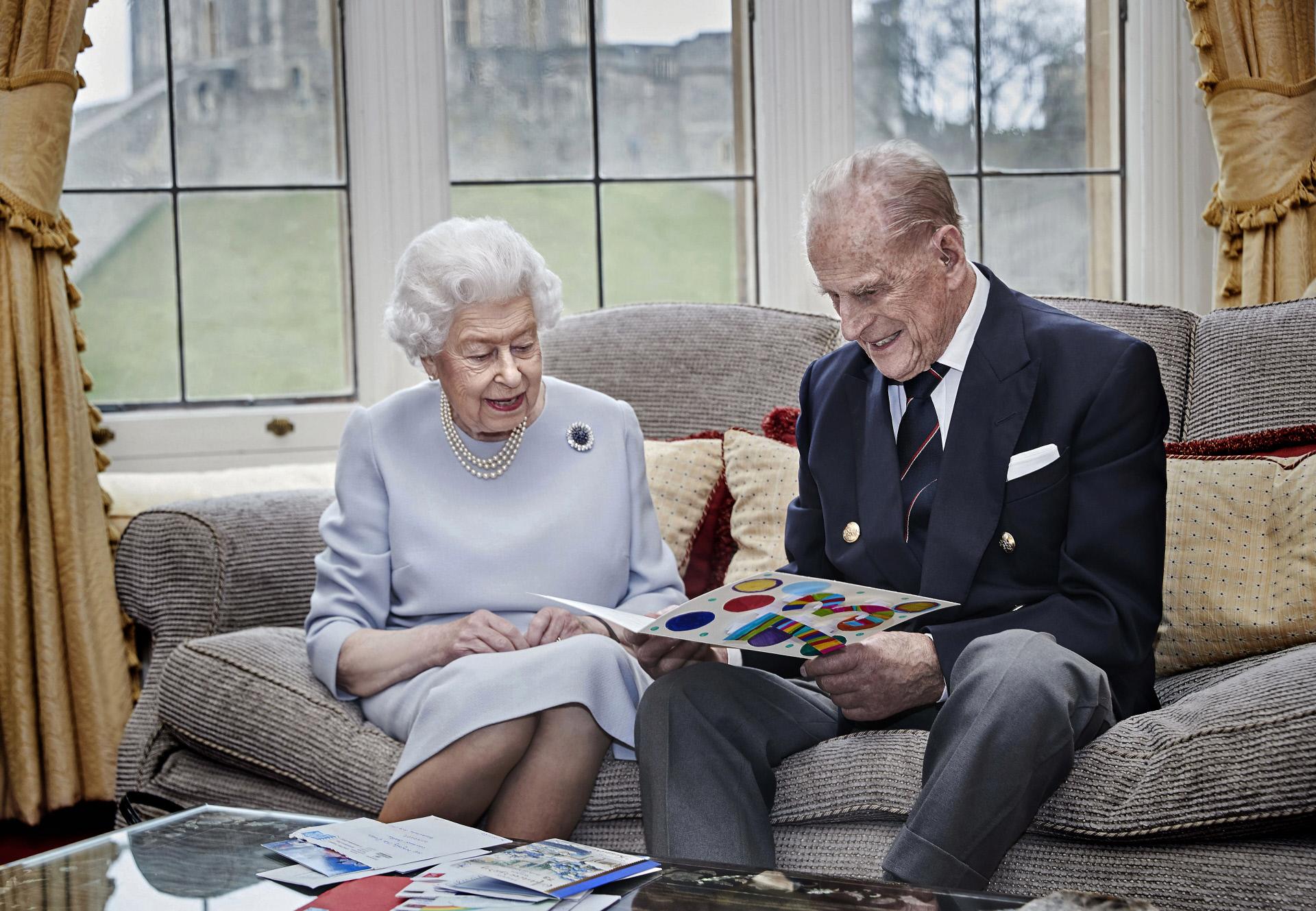 El príncipe y la reina han estado juntos más de 70 años.