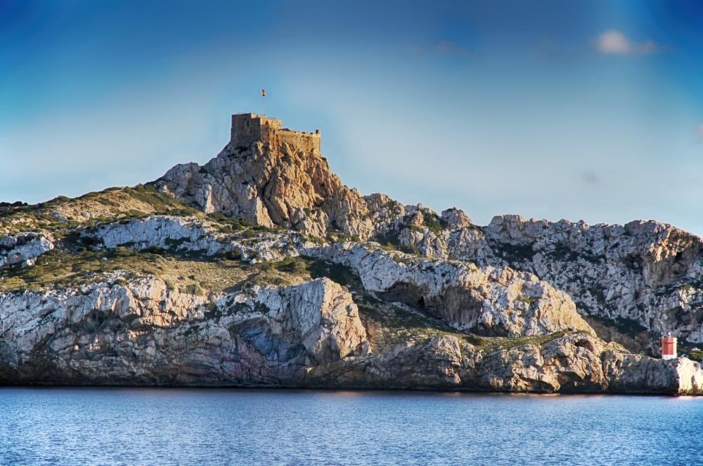 El castillo defensivo de Cabrera.
