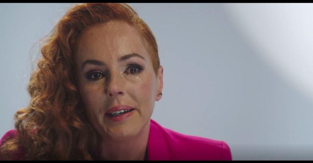 Rocío Carrasco, durante la docuserie de Telecinco.