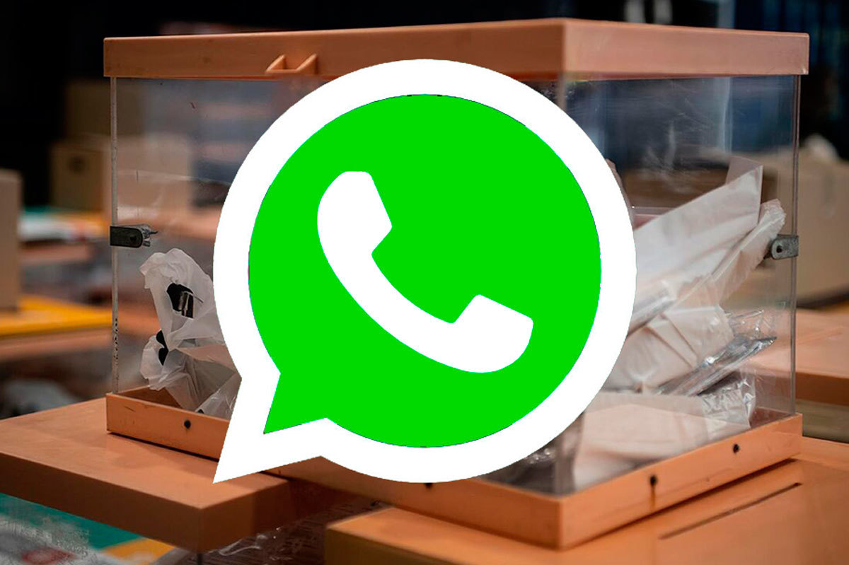 WhatsApp celebra sus medidas de cara a los comicios.