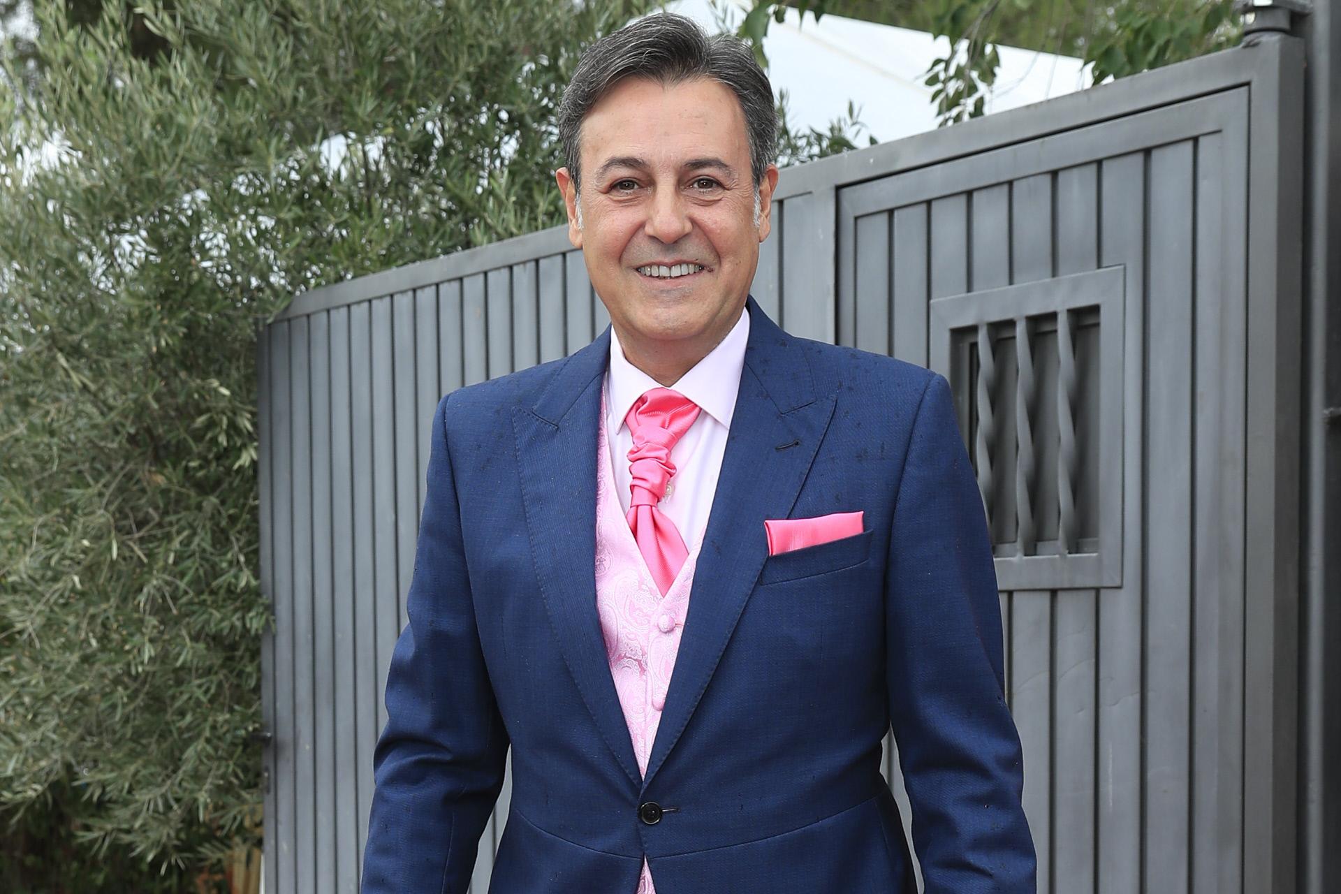 José Ribagorda en su última boda en 2019