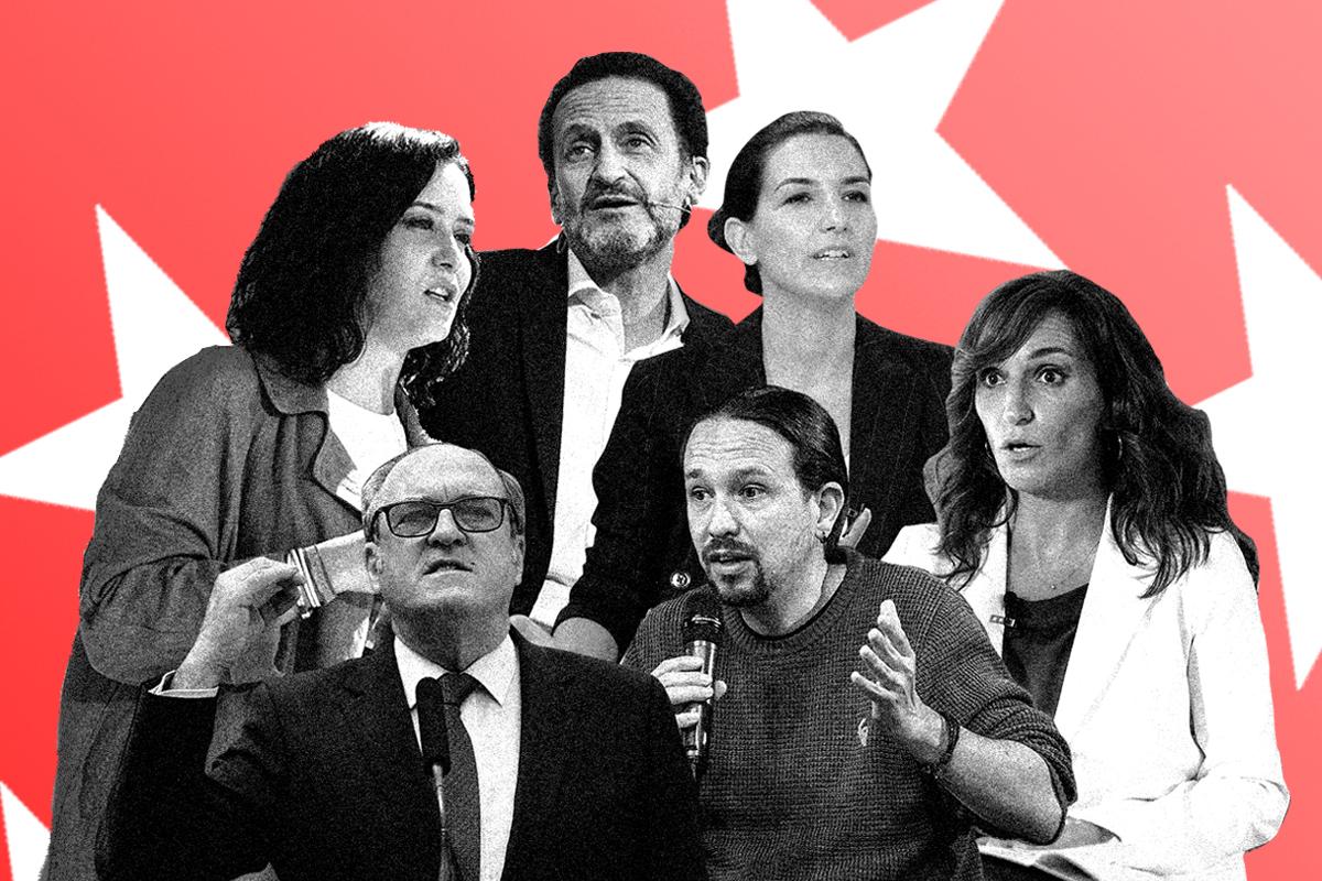 Isabel Díaz Ayuso se enfrenta hoy a los ataques de todos los partidos en el único debate a seis