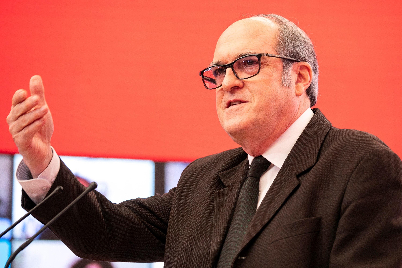 El candidato del PSOE, Ángel Gabilondo.
