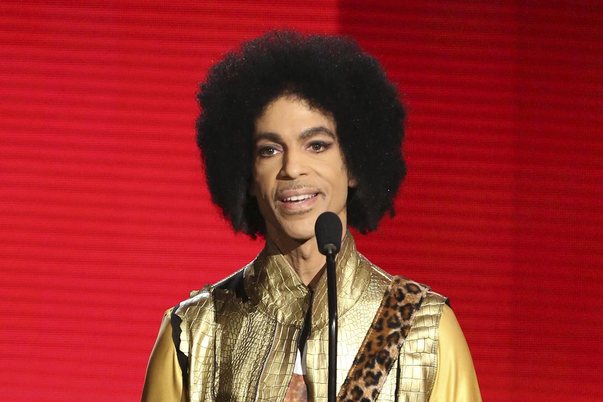 Prince, en una de sus últimas apariciones públicas, en 2015.