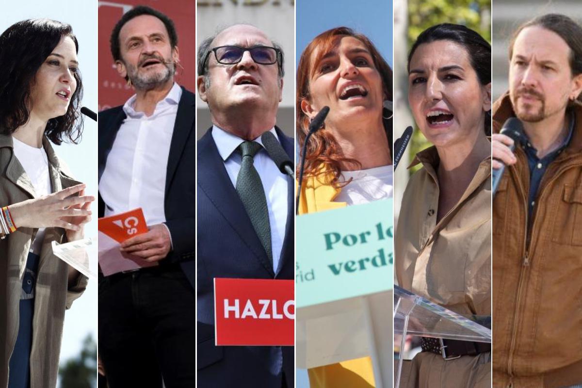debate telemadrid elecciones madrid 2021