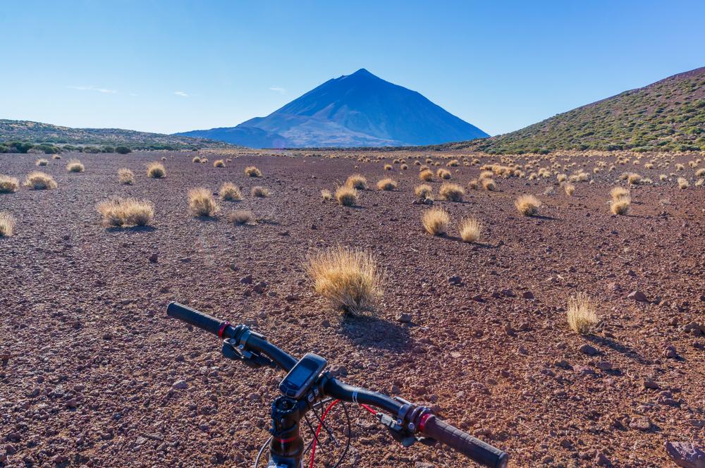 Ruta de 50 kilómetros en las Cañadas del Teide.