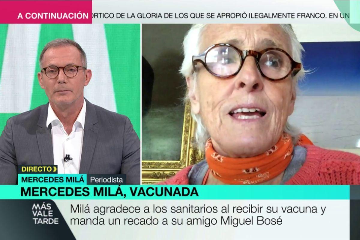 El cabreo de Mercedes Milá tras la censura de unas declaraciones en La Sexta