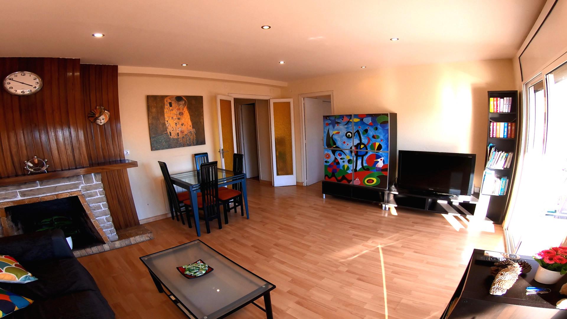 El apartamento de la familia en Tarragona.