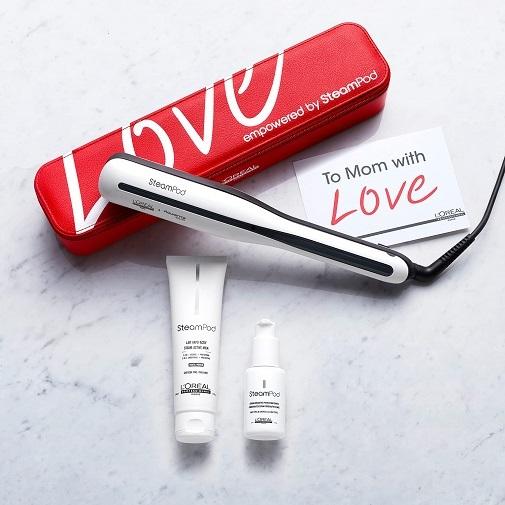 Regalos de belleza 'tecno' para el Día de la Madre: Plancha de pelo Steampod 3.0 de L'Oréal Professionnel
