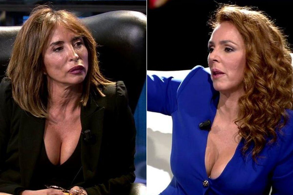 El duro encontronazo de María Patiño y Rocío Carrasco por el episodio de la ventana
