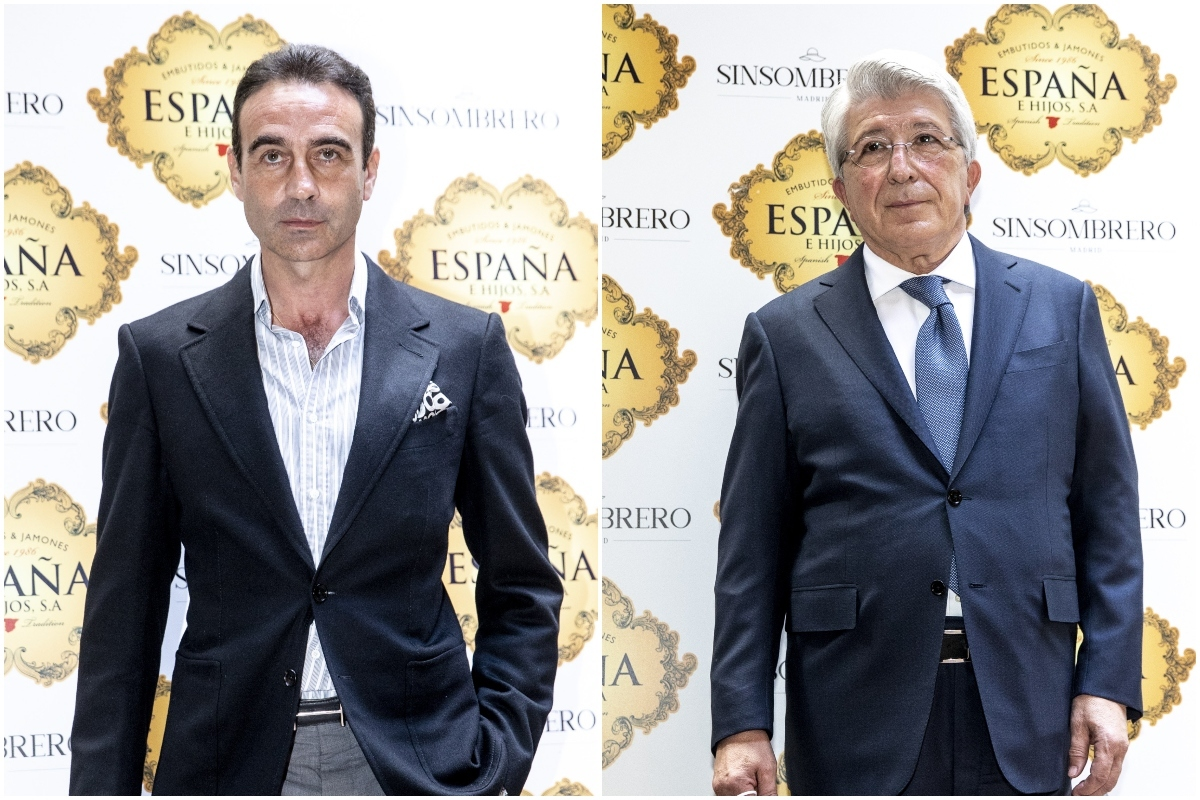 Enrique Ponce y Enrique Cerezo, en un evento taurino reciente.