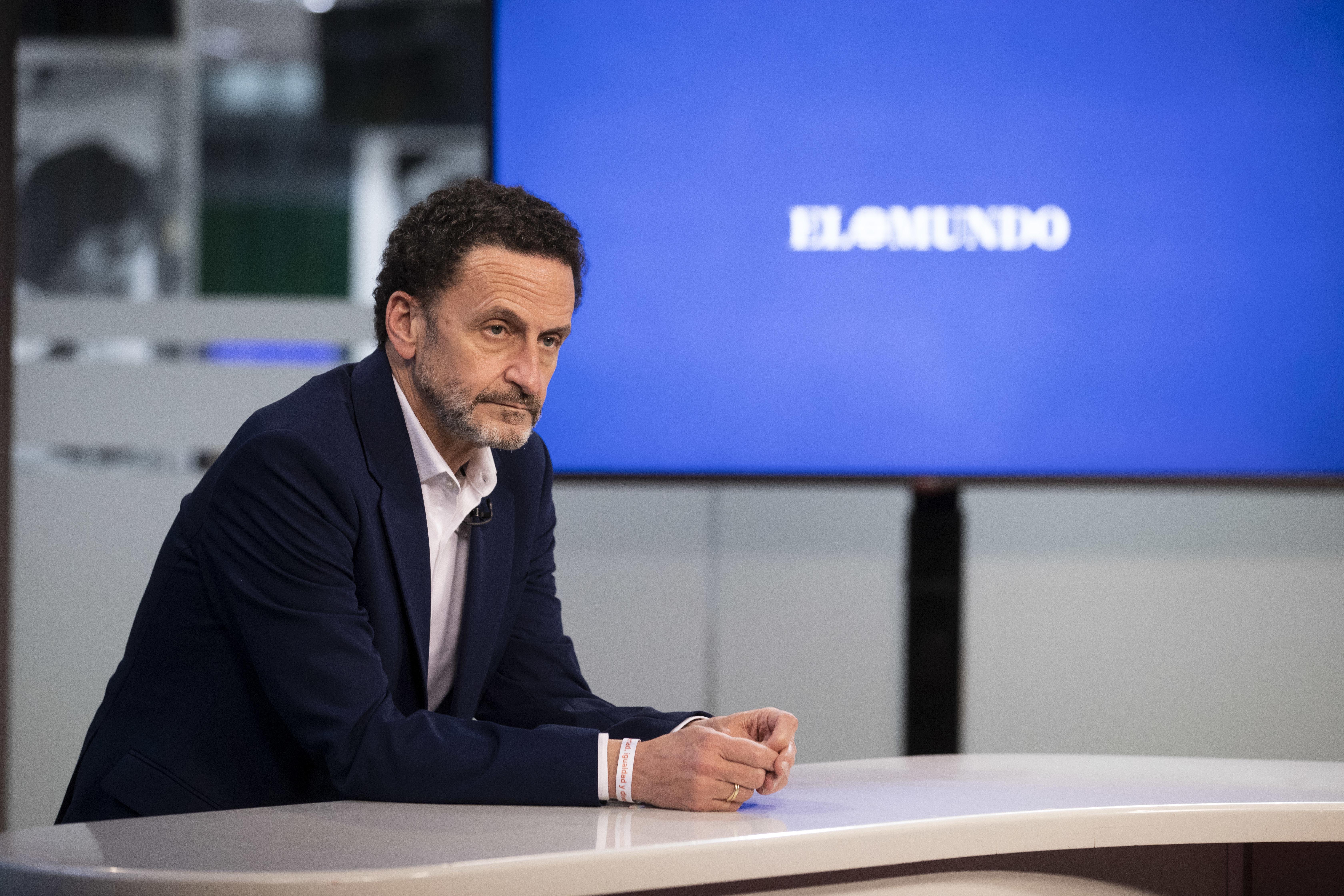 El candidato de Cs, Edmundo Bal.