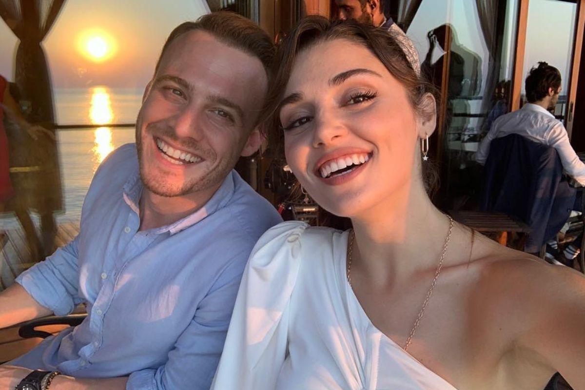 Love is in the air: Hande Erçel y Kerem Bürsin, de viaje en Maldivas, ¿confirmando su romance?