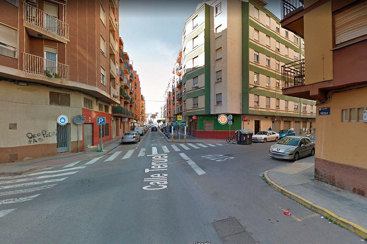 Calle Teruel de Vila-real.