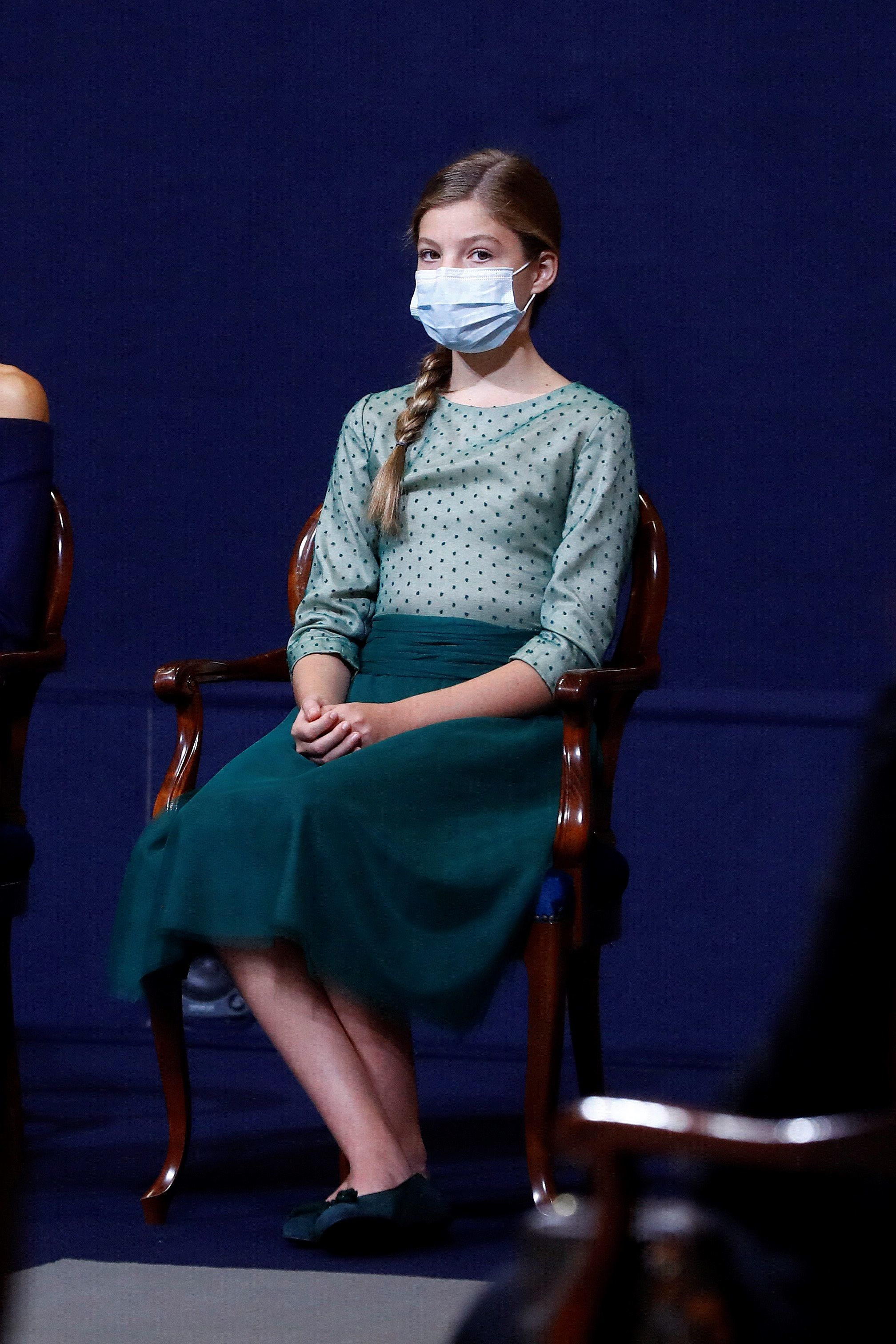 La Infanta Sofía, en los Premios Princesa Sofía 2020.