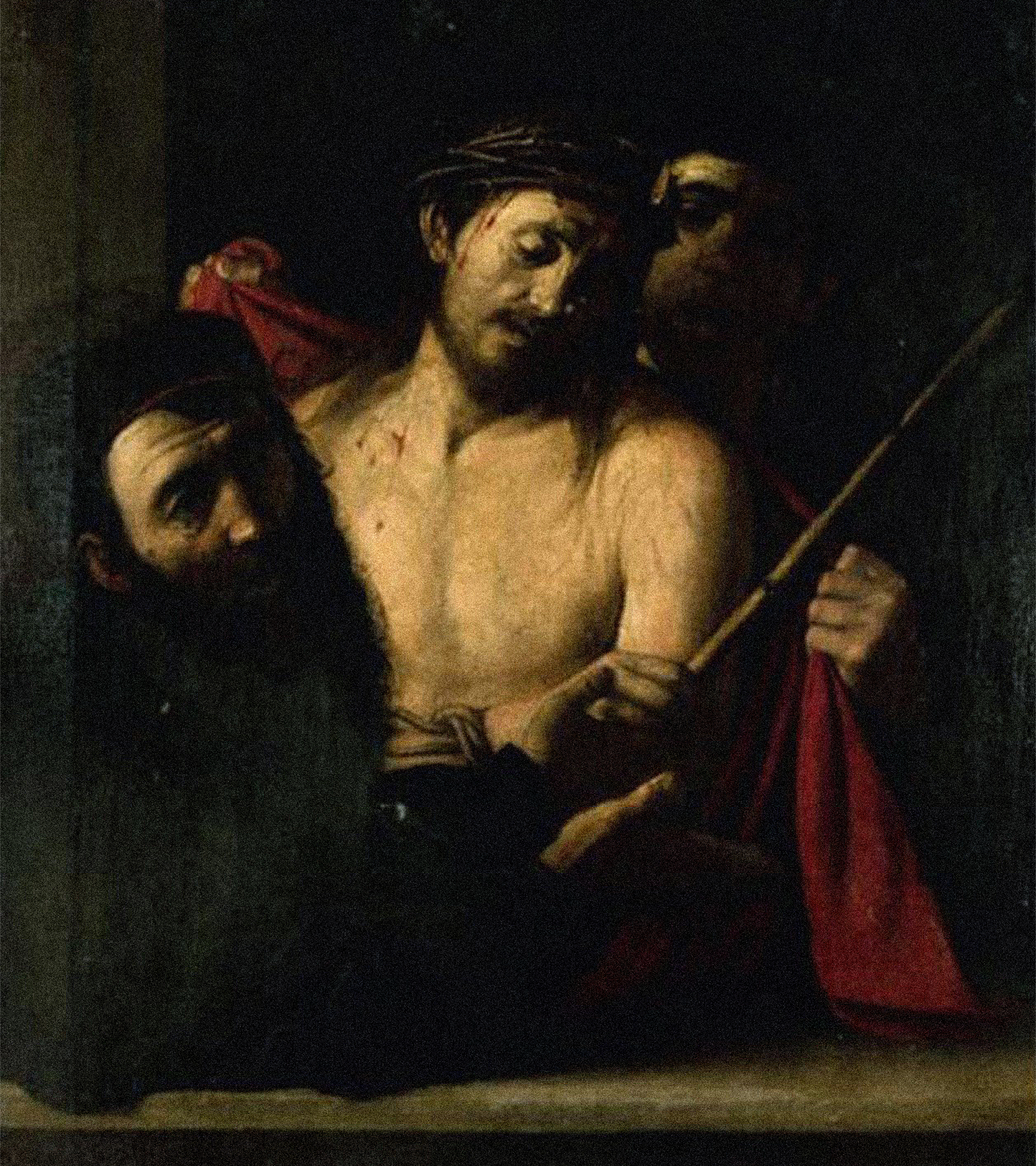 Imagen del posible Caravaggio.