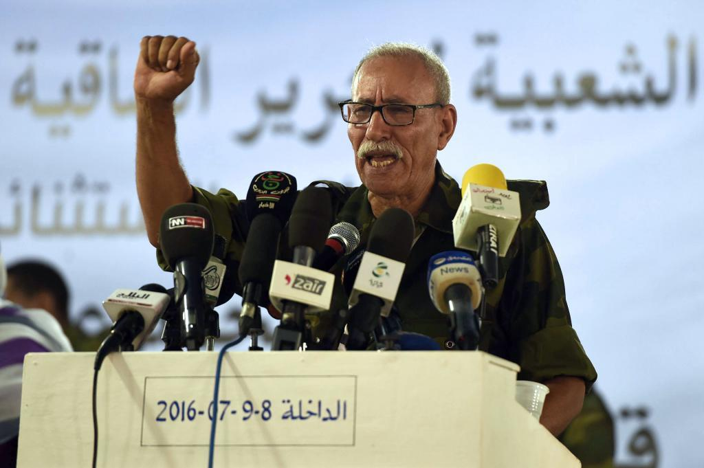 Frente Polisario Brahim Ghali