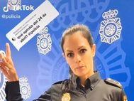 La Policía alerta en Tik Tok sobre el bulo del día de la violación
