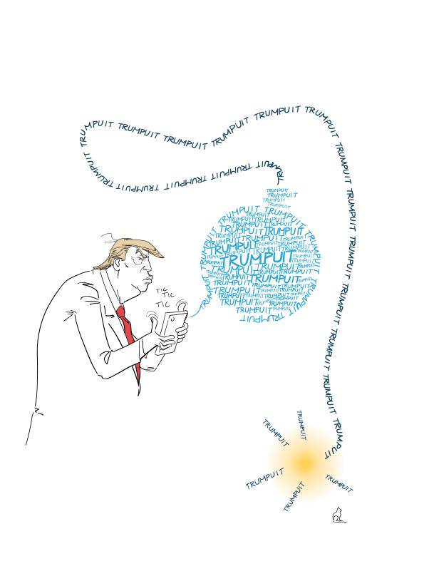 A comic book character named Donald Trump: