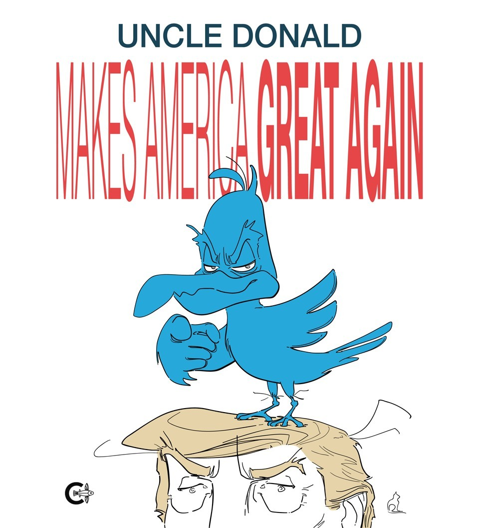 Cover of 'Uncle Donald'.