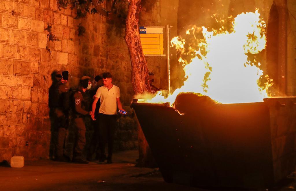 Disturbios durante la noche del viernes al sábado en Jerusalén