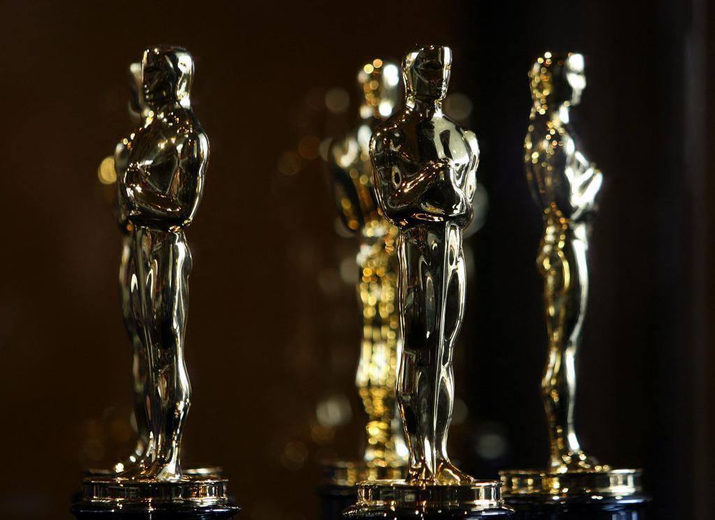 Imagen de las estatuillas de los Oscar.