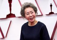 La actriz coreana, Youn Yuh-jung