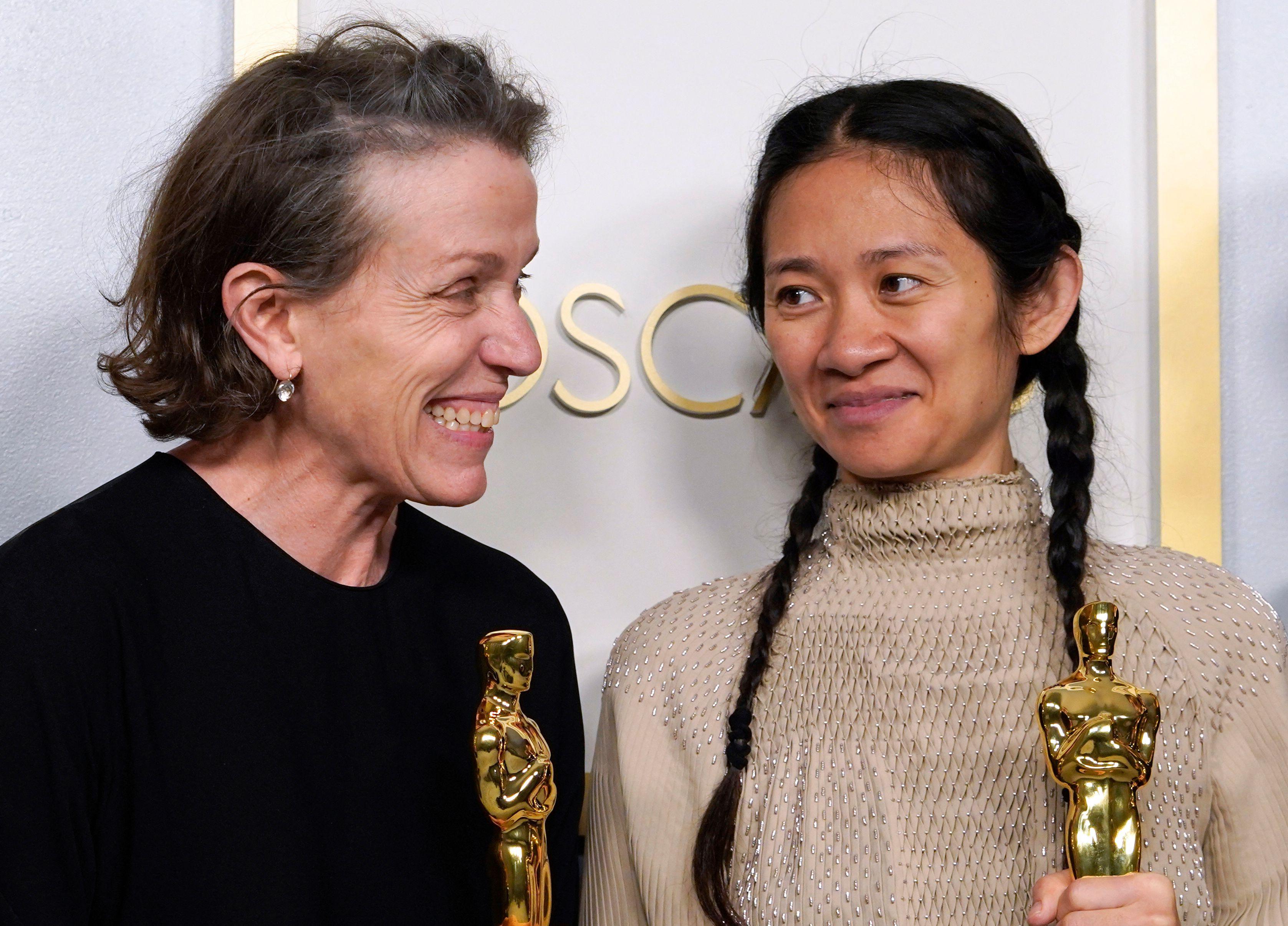 Oscars 2021, la gala en directo: Frances McDormand y Anthony Hopkins, mejor  actriz y actor del año | Premios Oscar 2021