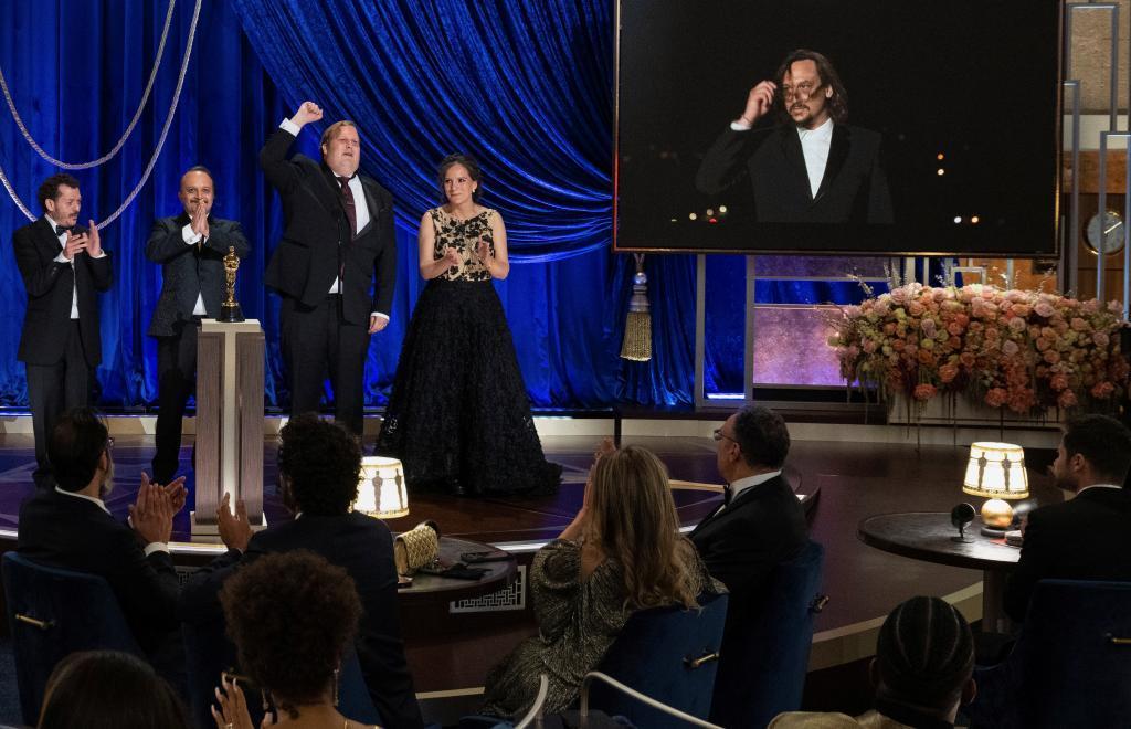 Gala de los Premios Oscar 2021 sin mascarilla