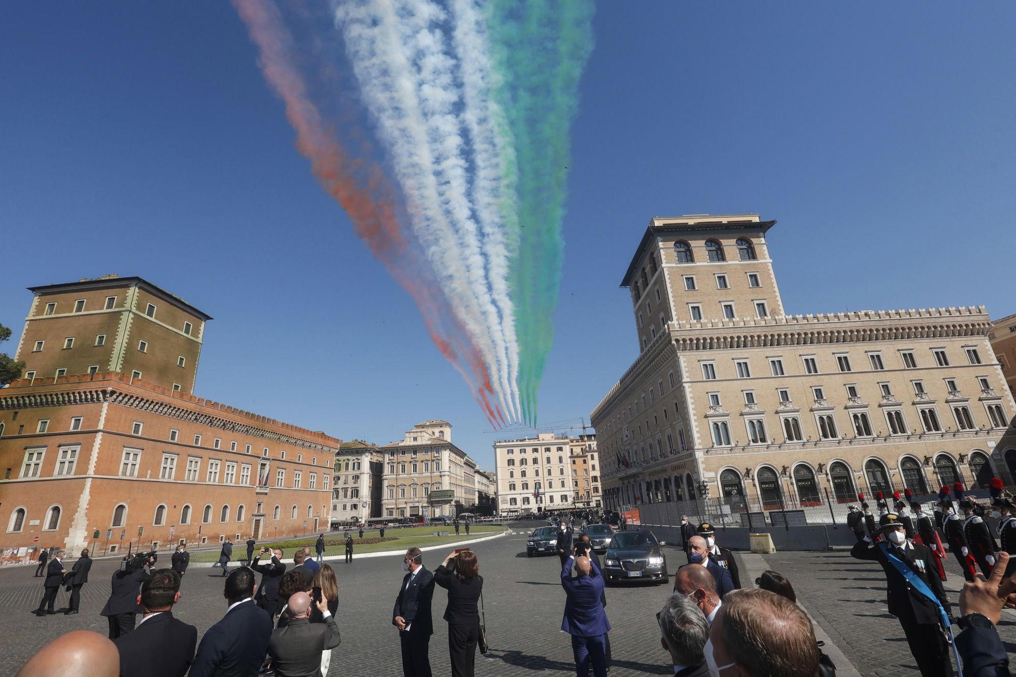 Día de la Liberación de Italia, ayer en Roma.