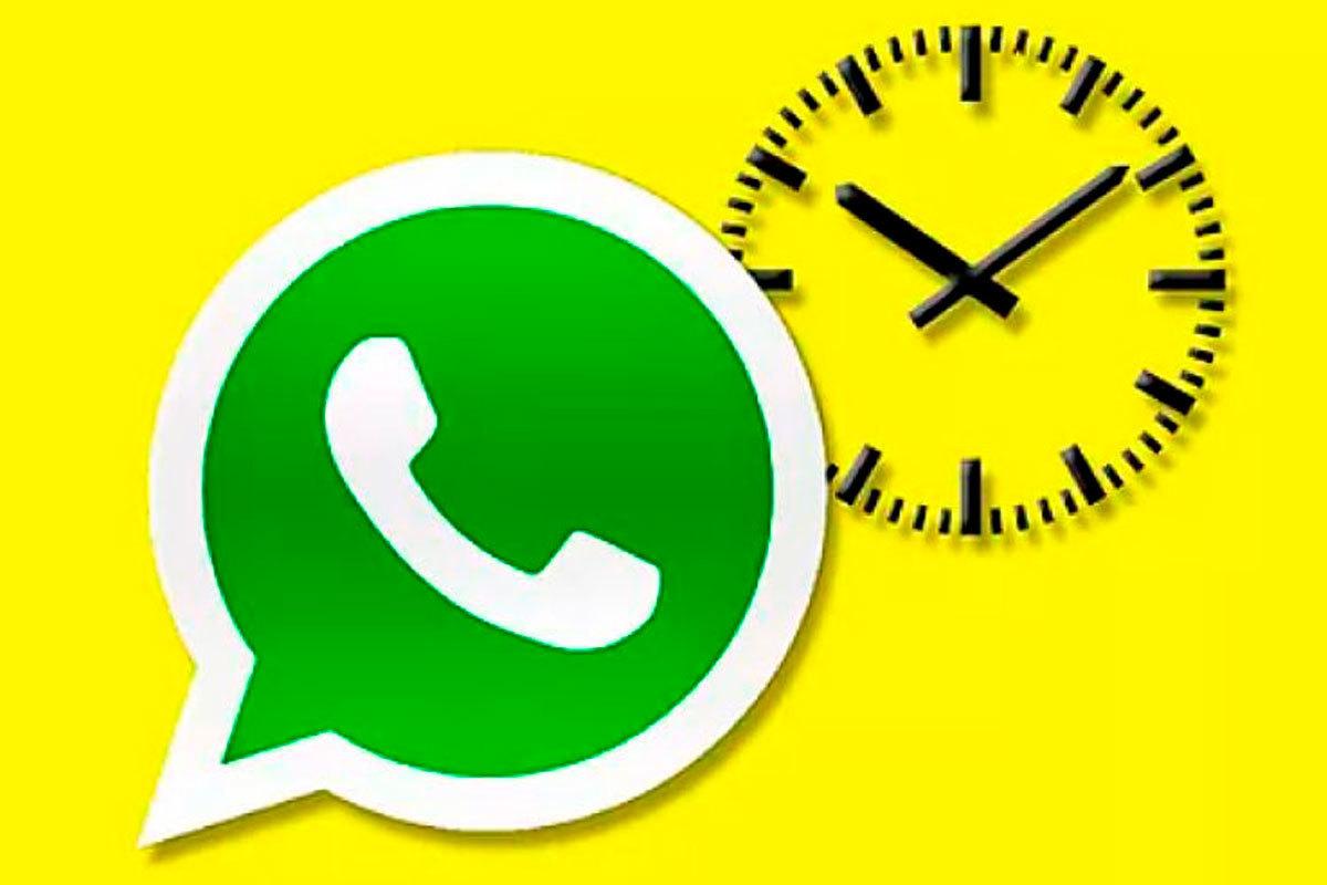 WhatsApp: los mensajes que se borran solos podrán durar 24 horas o una semana