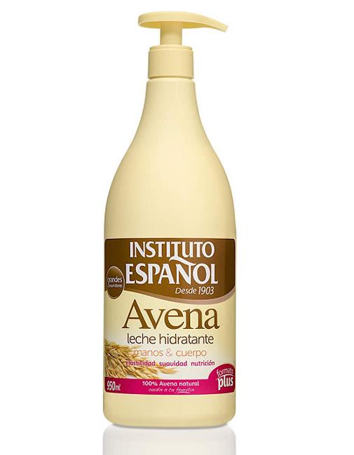 Leche hidratante de avena, de Instituto Español.