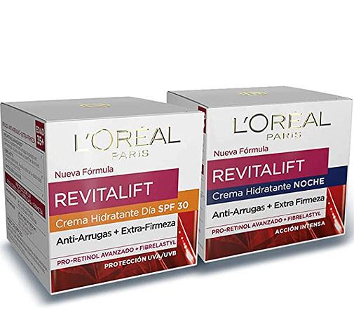 Revitalift set de crema de día y de noche, de L'Oréal Paris.