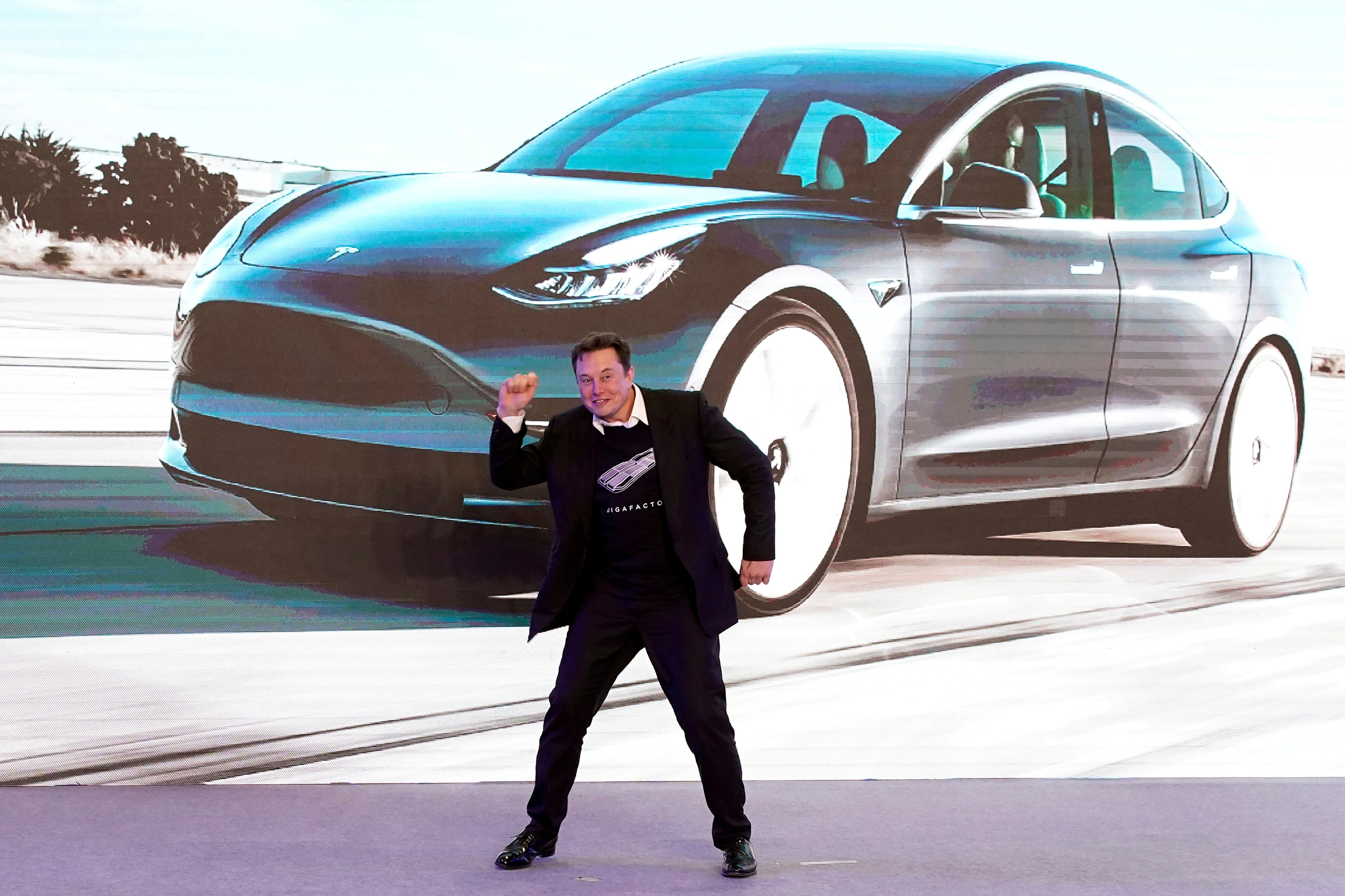 Elon Musk en una presentación en China, en una imagen de archivo.