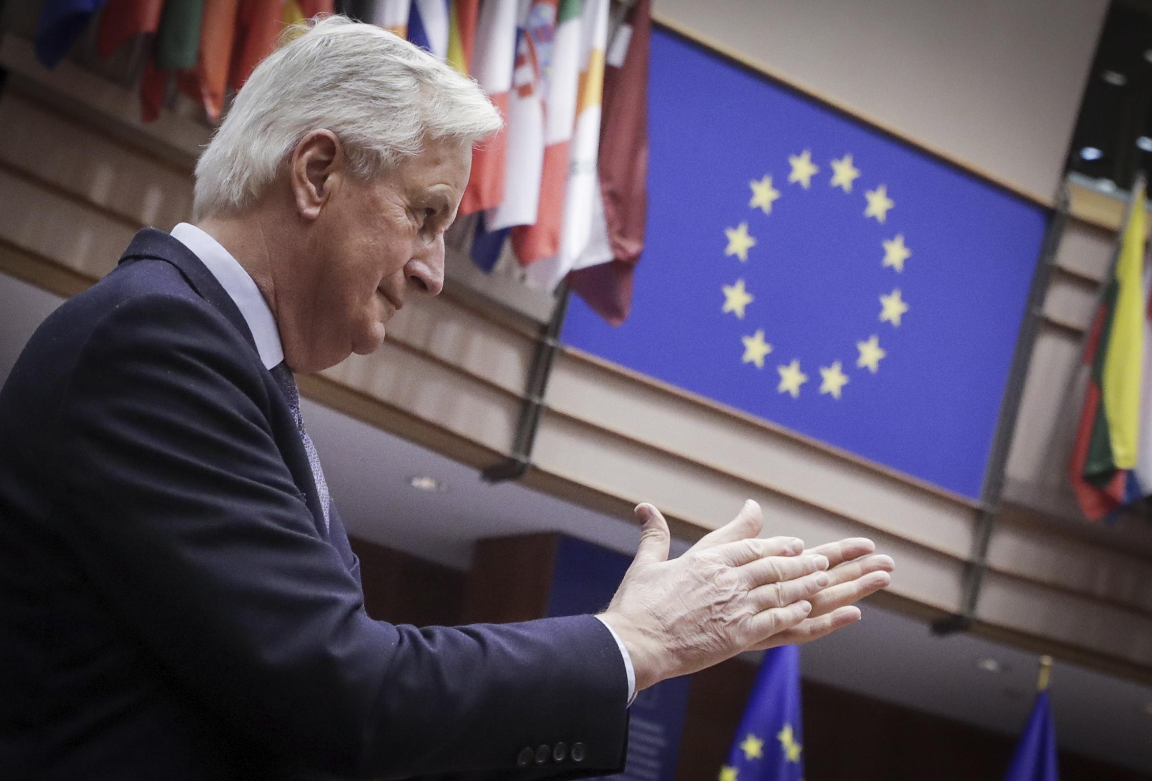 El jefe negociador de la UE Michel Barnier.