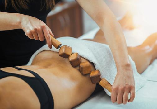 maderoterapia combatir celulitis masajes retención de líquidos