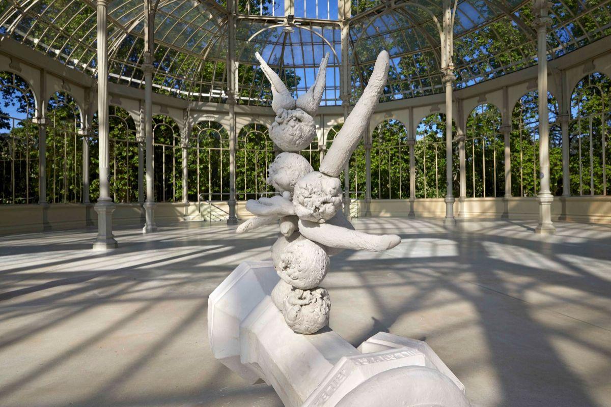 Exposición de Pep Agut en el Palacio de Cristal del Retiro.
