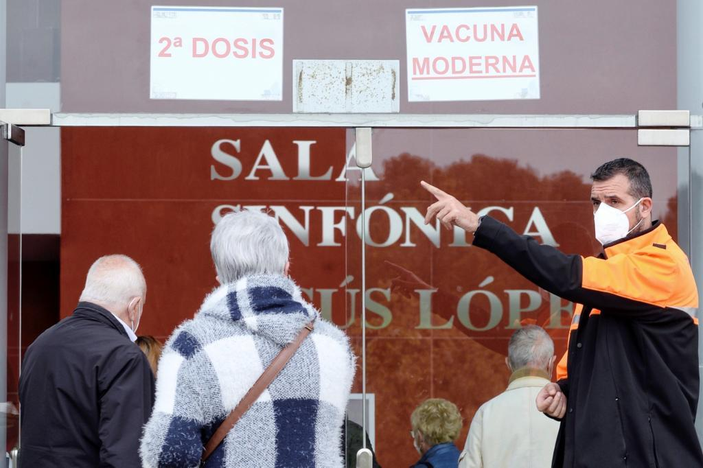 Campaña de vacunación en Valladolid