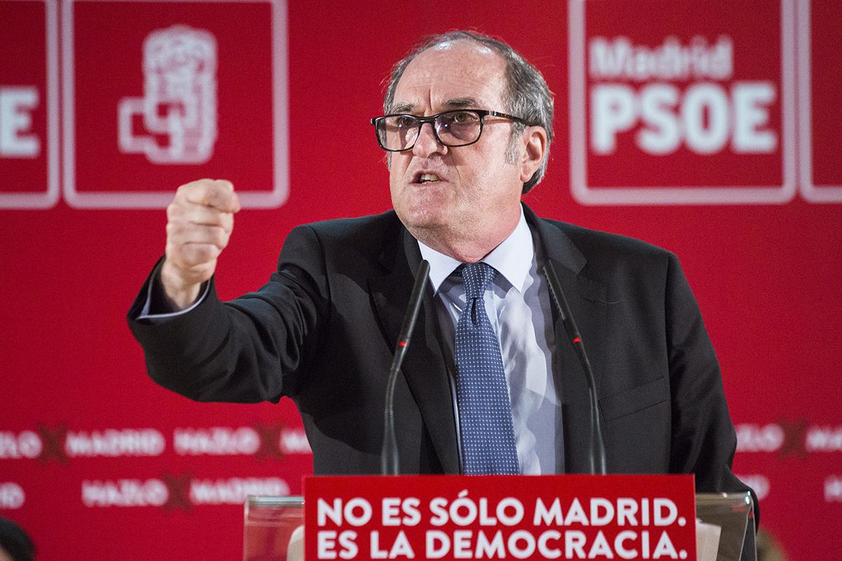 El candidato socialista a la Presidencia de la Comunidad de Madrid, Ángel Gabilondo.