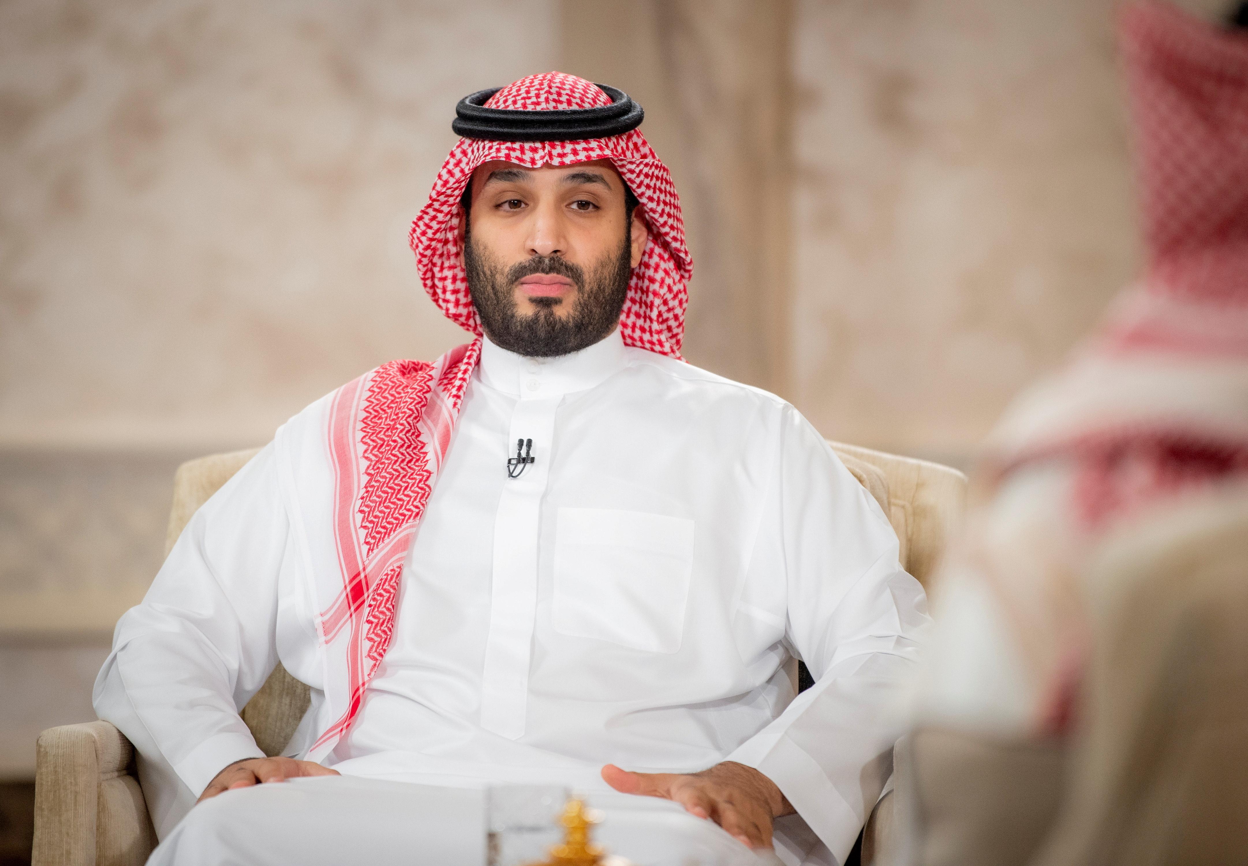 El príncipe heredero Bin Salman.
