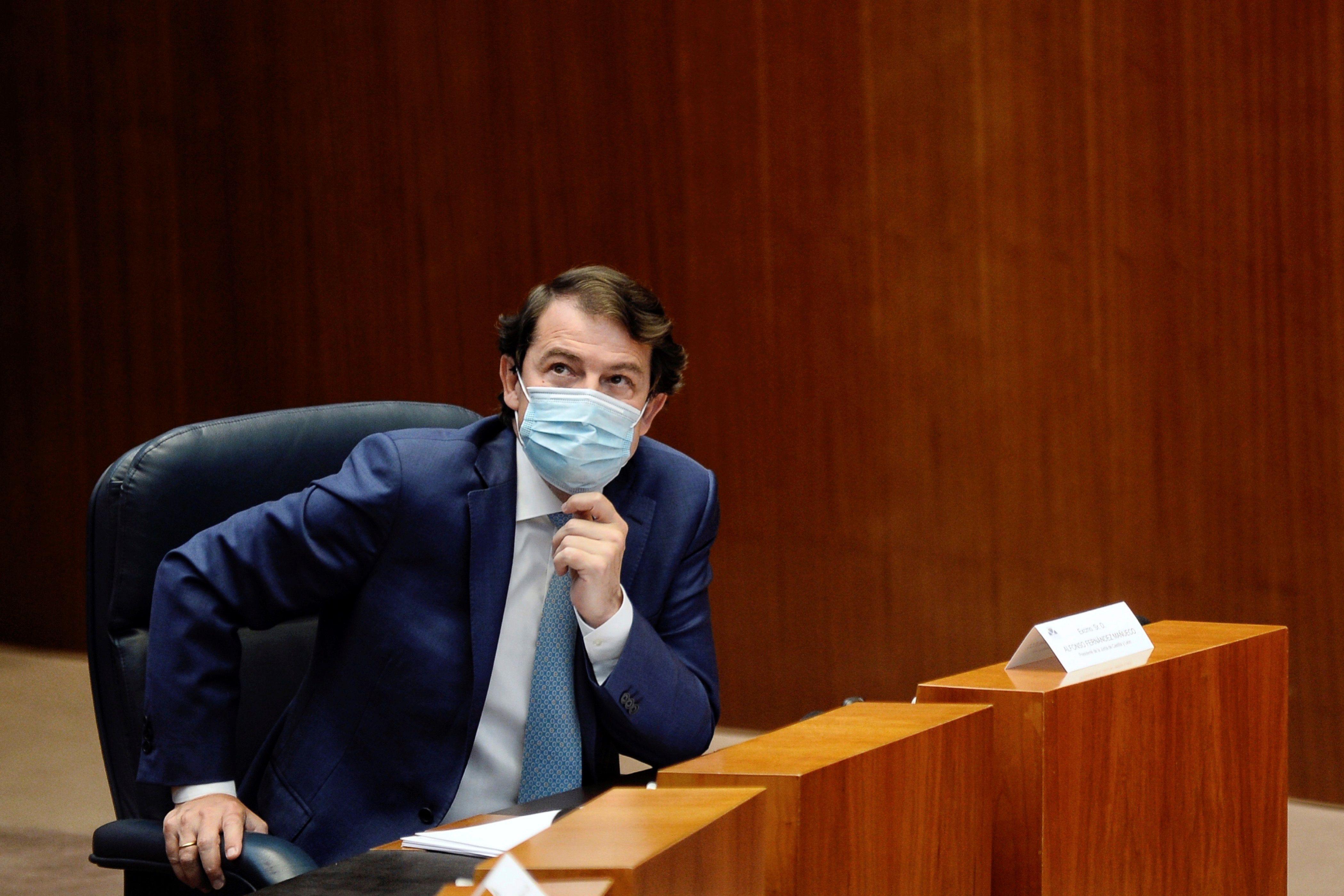 Alfonso Fernando Fernández Mañueco, presidente de la Junta de Castilla y León.