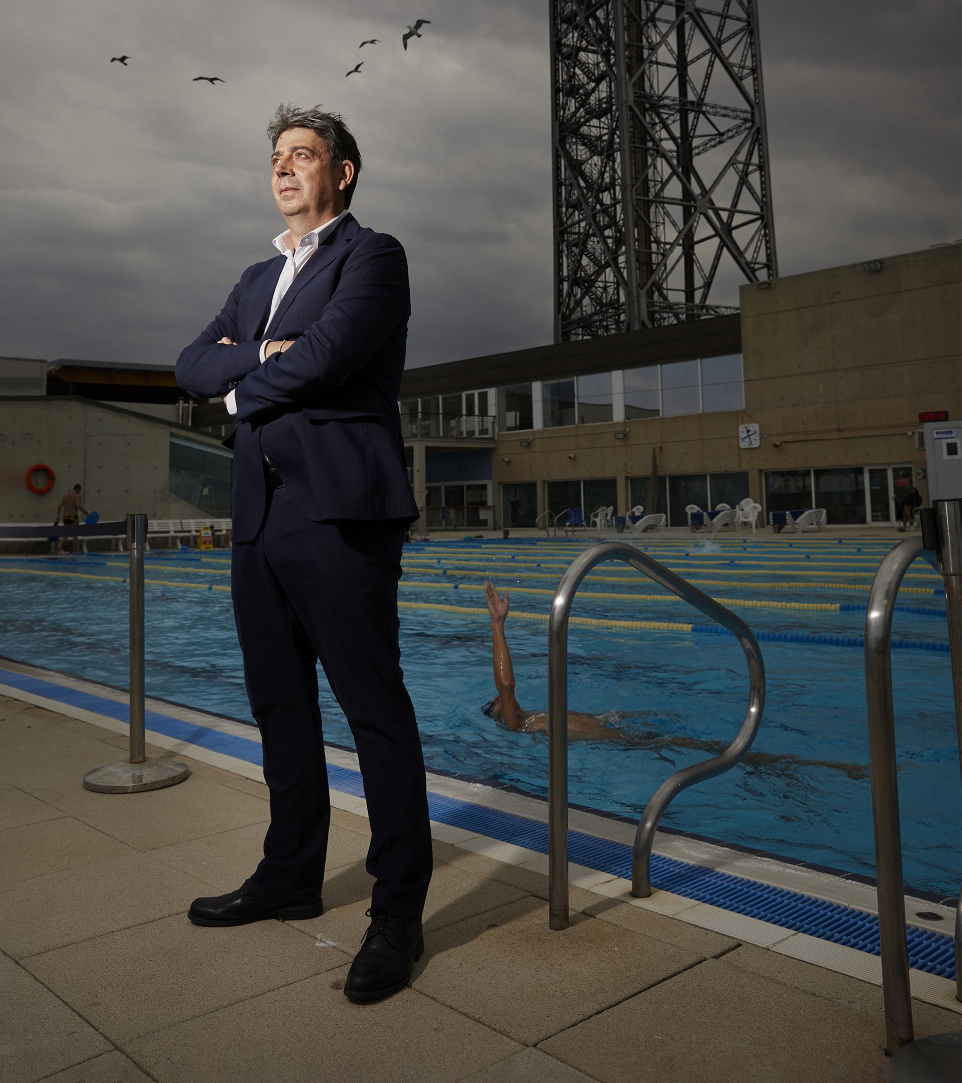 """Eloi Planes, el líder mundial de las piscinas que triunfa en el Ibex: """"No hemos hecho más que empezar"""""""