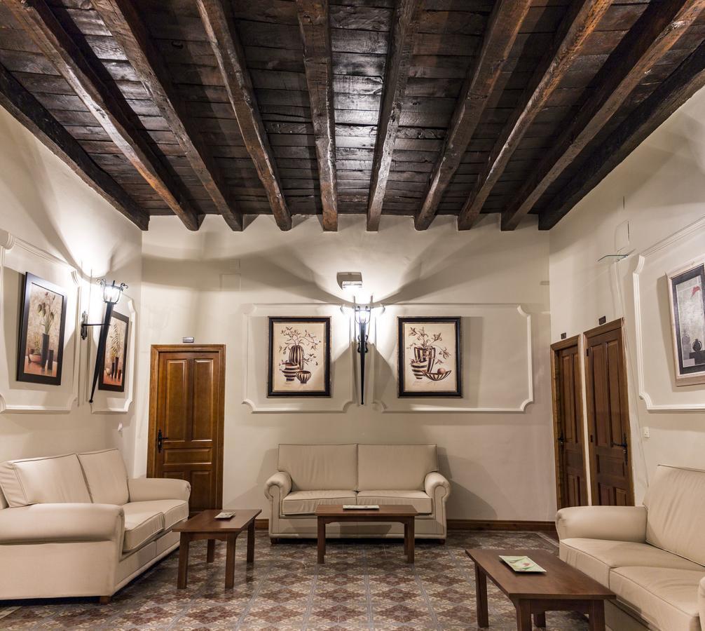 Sala de estar del Hostal San Miguel.