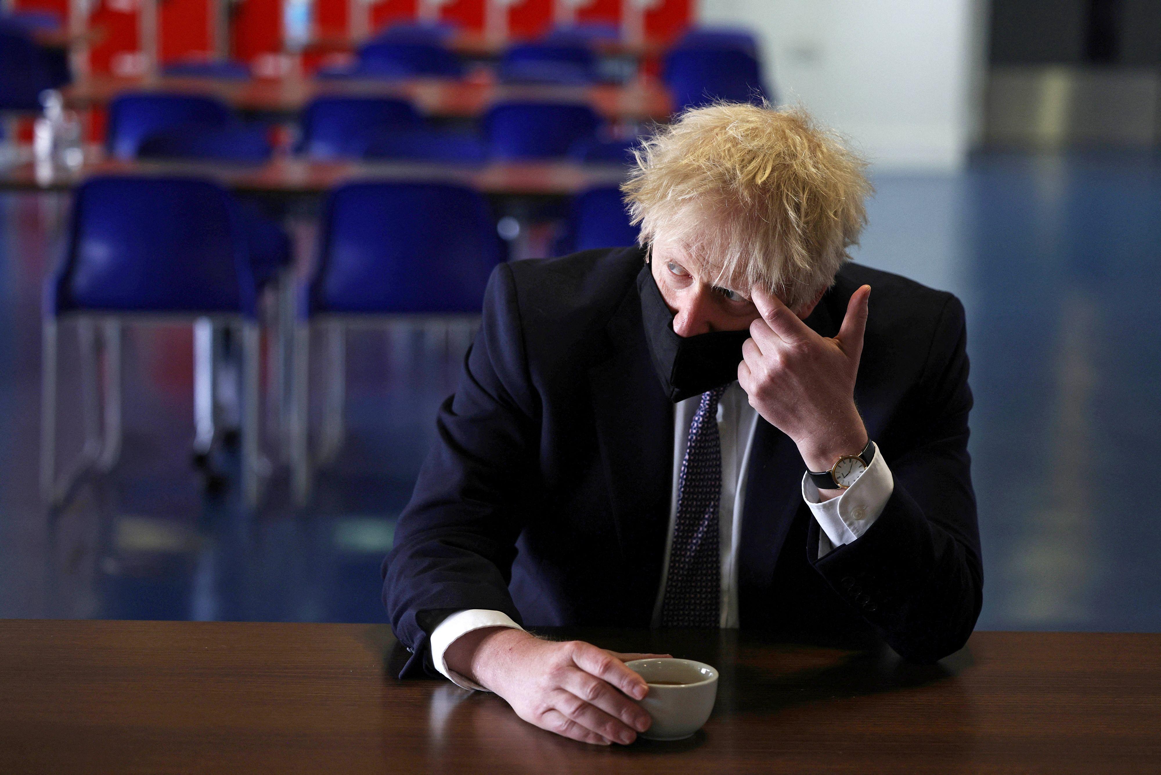 El primer ministro Boris Johnson.