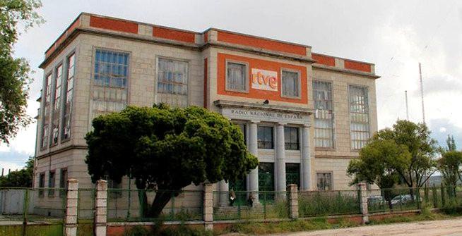 Edificio abandonado de Radio Nacional de España.