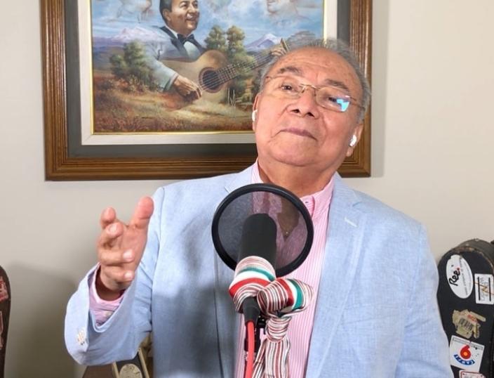 Ricardo Basurto, de Los Panchos.