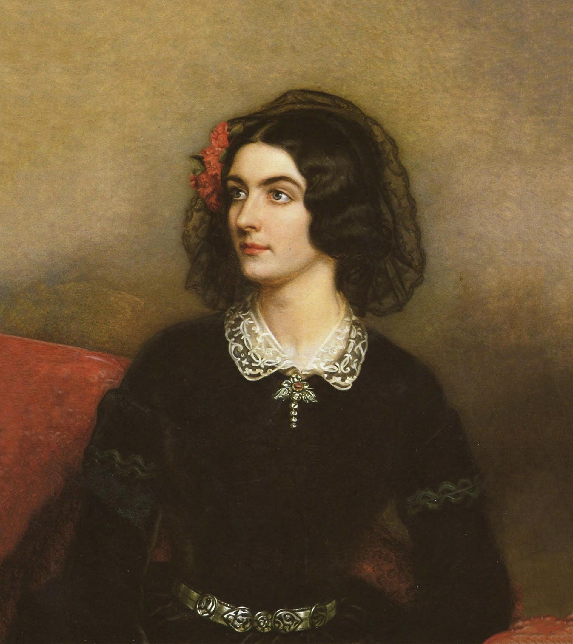Lola Montes, retratada por Joseph Karl Stieler.
