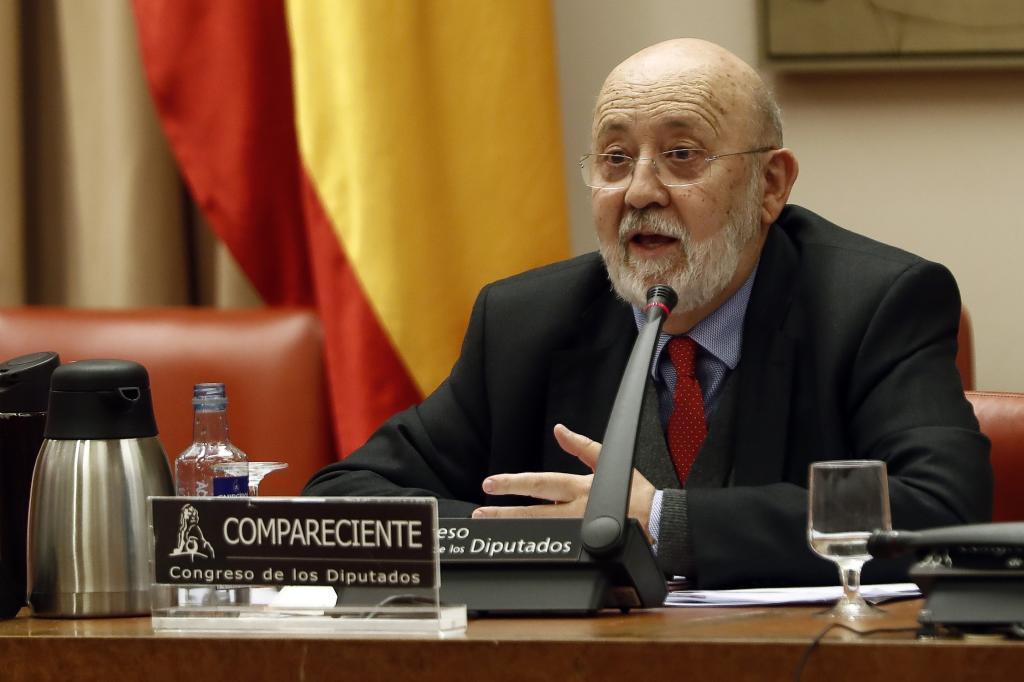 José Félix Tezanos, en el Congreso.